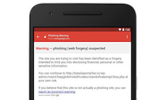Phishing-Update für Gmail-App