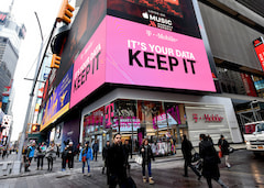 T-Mobile US Store am Time Square