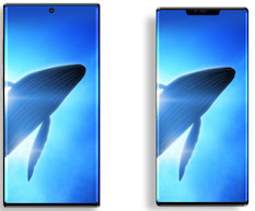 Samsung Galaxy Note 10 (l.) vs. Huawei Mate (30 Pro?)
