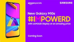Das Galaxy M10s bei Amazon