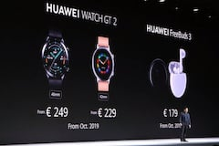 Neue Huawei-Wearables